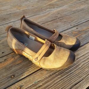 Merrell Tan Plaza Bandeau Mary Jane Shoes 11